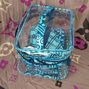 Vera  Bradley Comestic Bag Set.